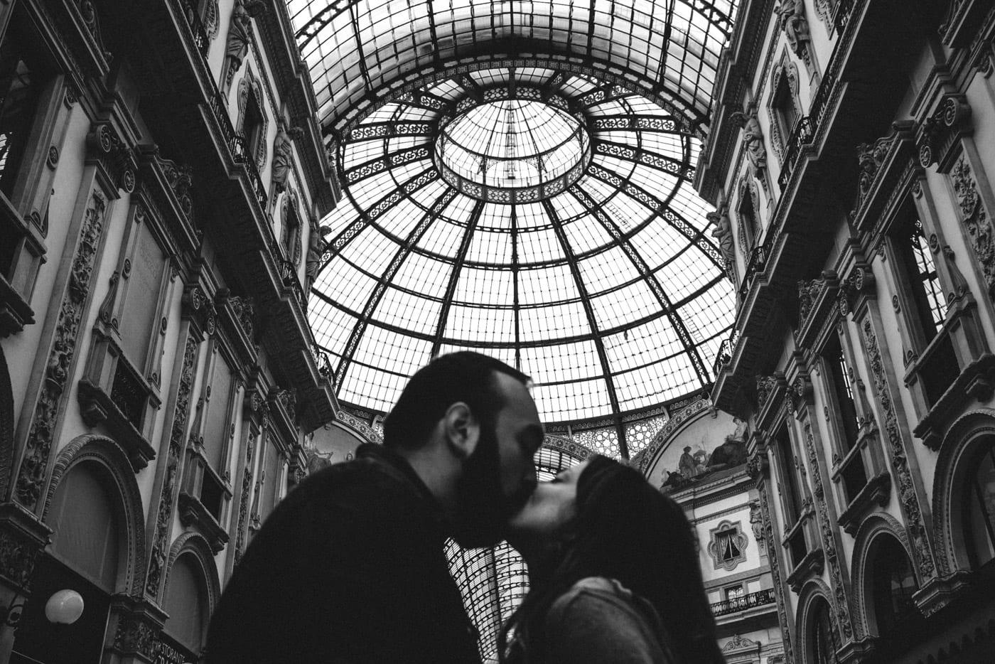 Engagement prematrimoniale galleria colonna a milano_lucarossifoto