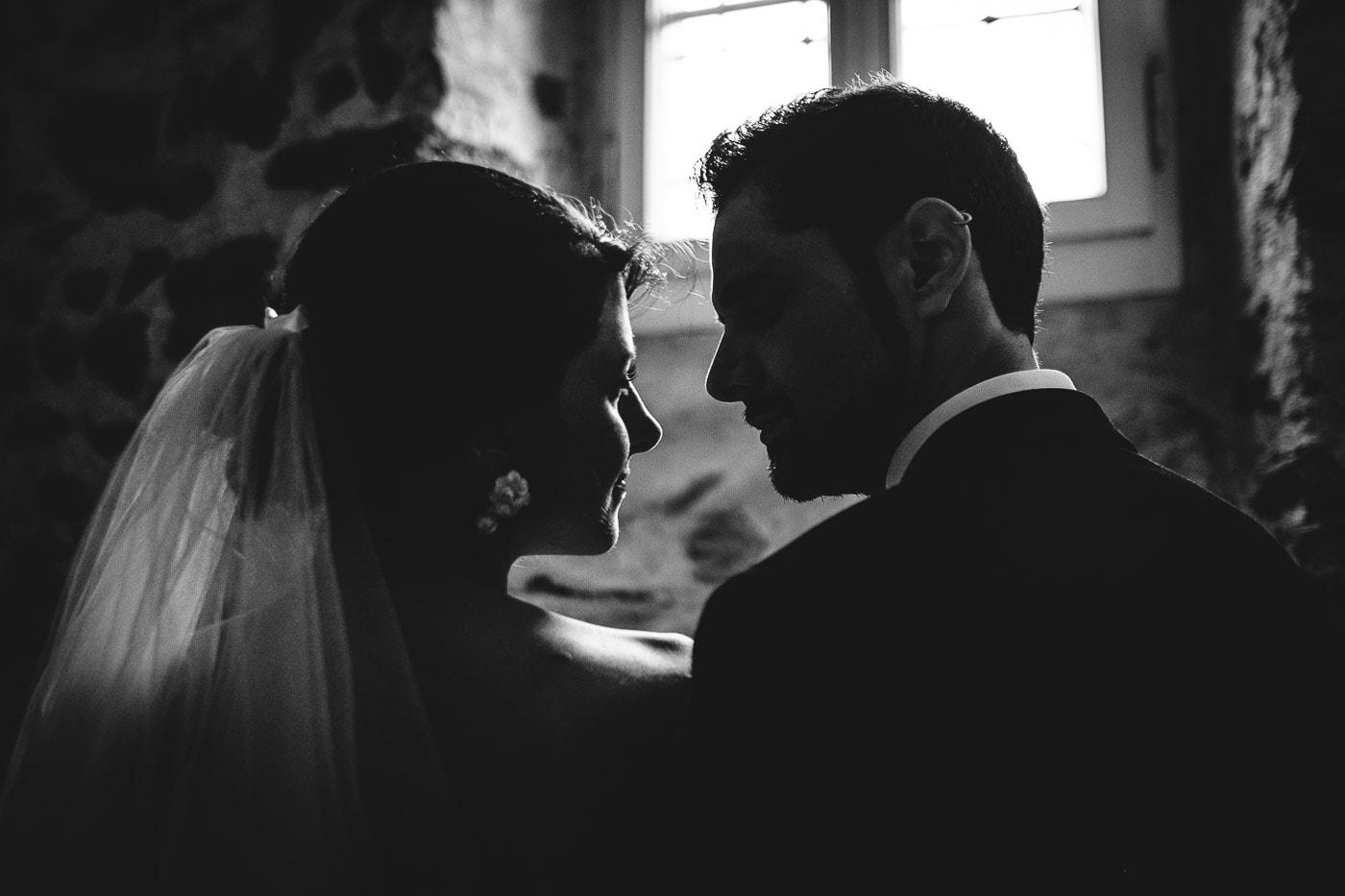 Fotografia matrimonio bianco e nero