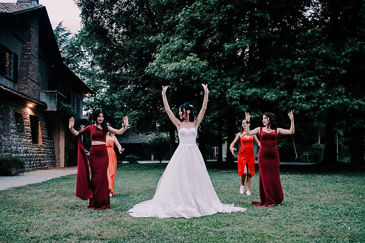 foto di reportage matrimonio antico podere di rezzano truccazzano 69