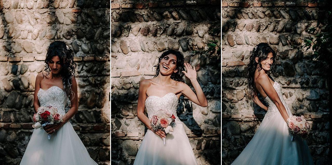 ritratto sposa bouquet matrimonio_antico podere di rezzano_truccazzano
