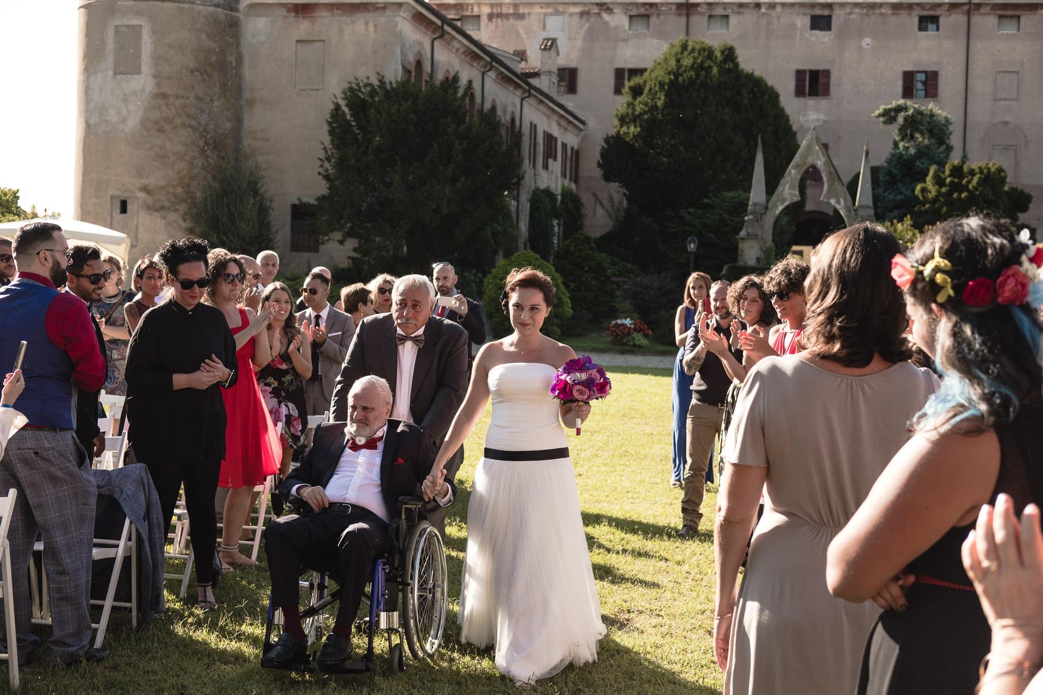fotografo matrimonio rock vercelli castello di DESANA 0029