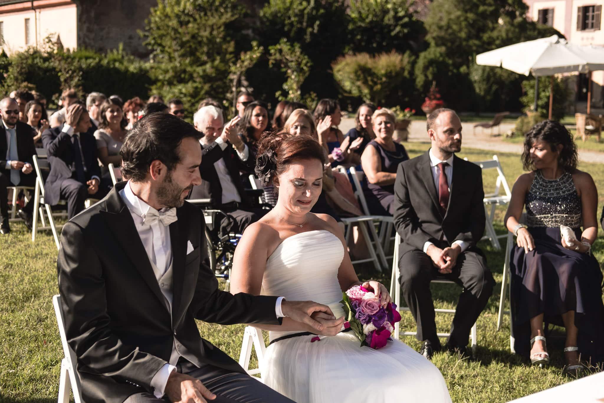 fotografo matrimonio rock vercelli castello di DESANA 0034