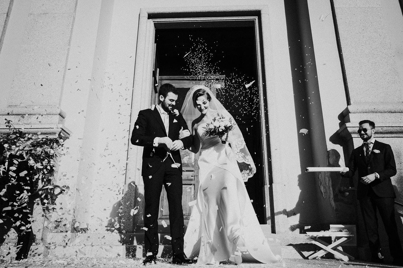 uscita sposi matrimonio castello durini