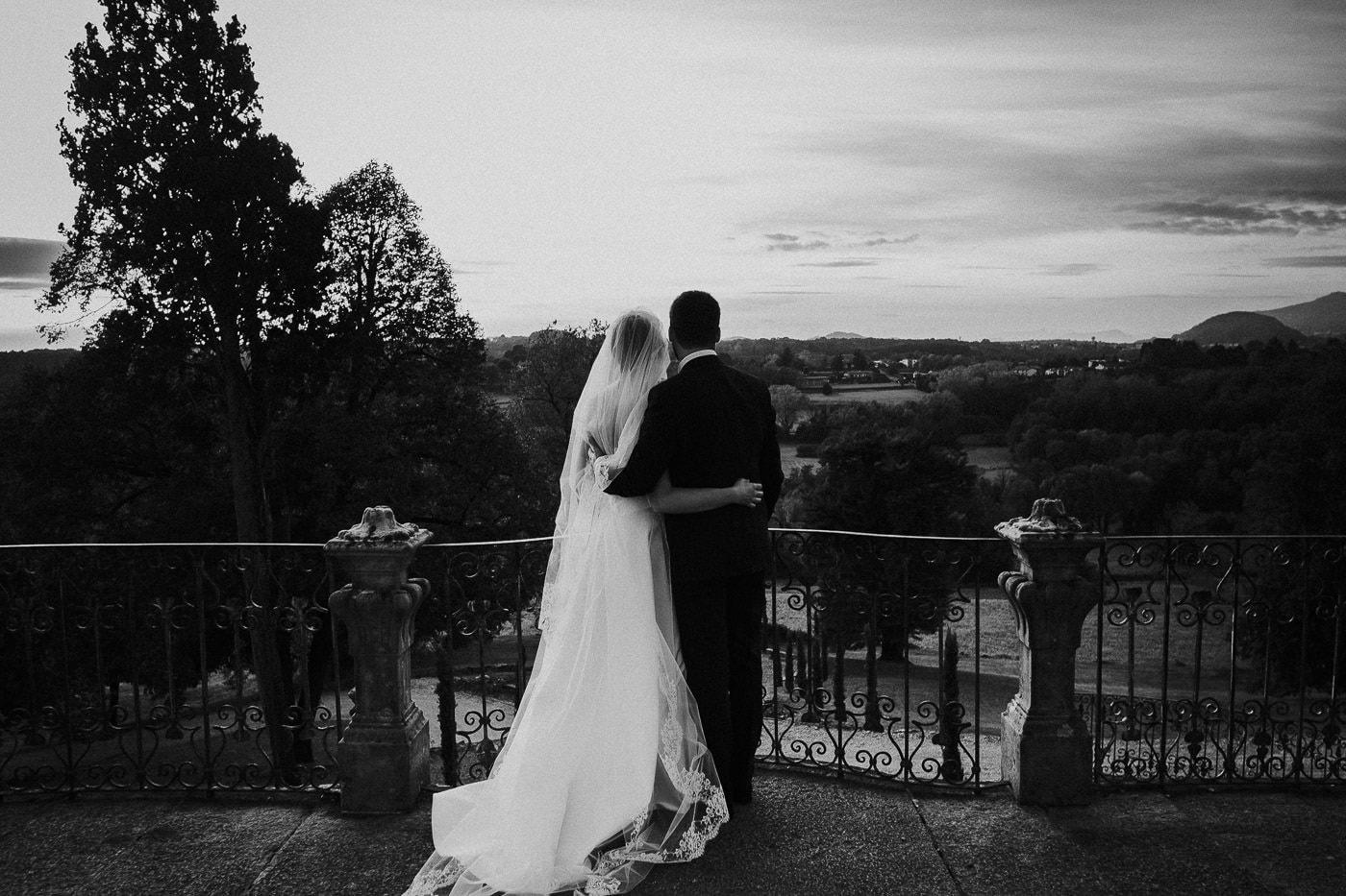 ritratto sposi matrimonio castello durini panorama