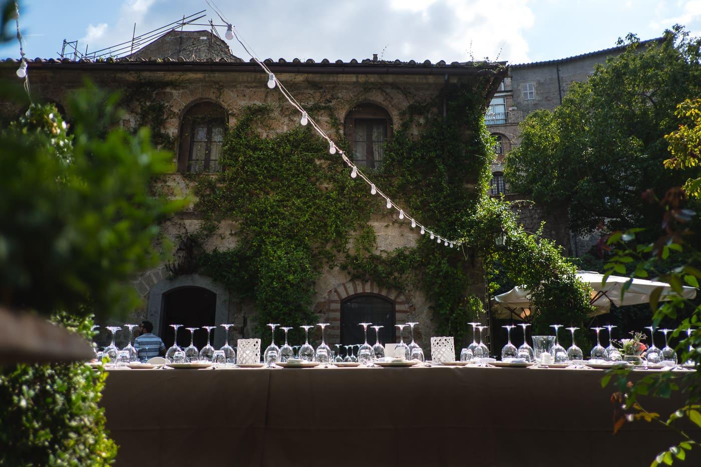 dettagli tavoli matrimonio_il giardino e la dimora_bomarzo