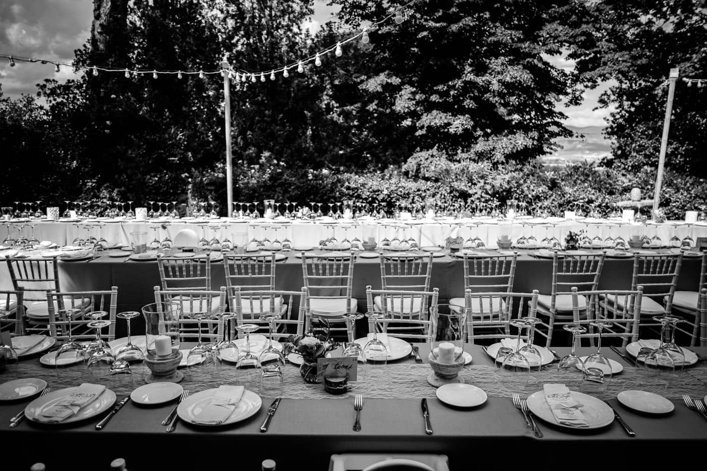 allestimento tavoli matrimonio_il giardino e la dimora_bomarzo