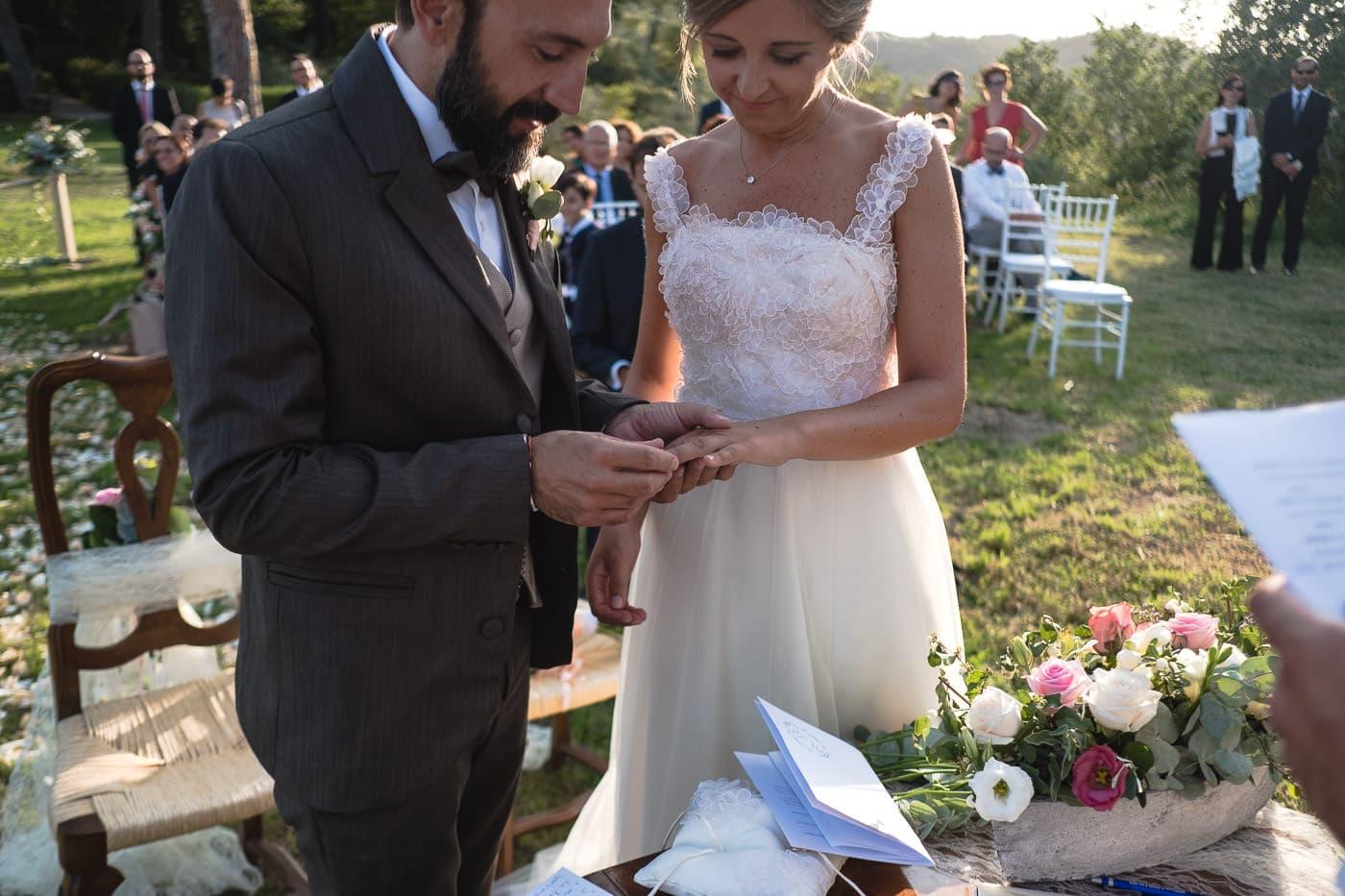 scambio fedi matrimonio_il giardino e la dimora_bomarzo