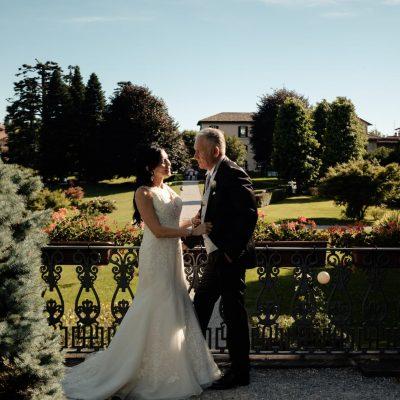 Matrimonio Antico Borgo della Madonnina vista parco