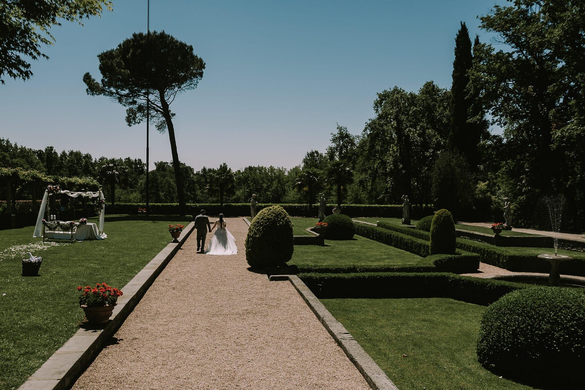 sposi matrimonio villa martinelli