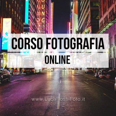 corso fotografia facile online luca rossi