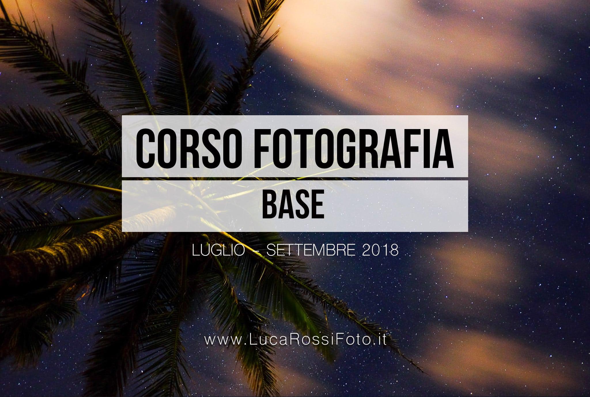 CORSO FOTOGRAFIA BASE VIMERCATE