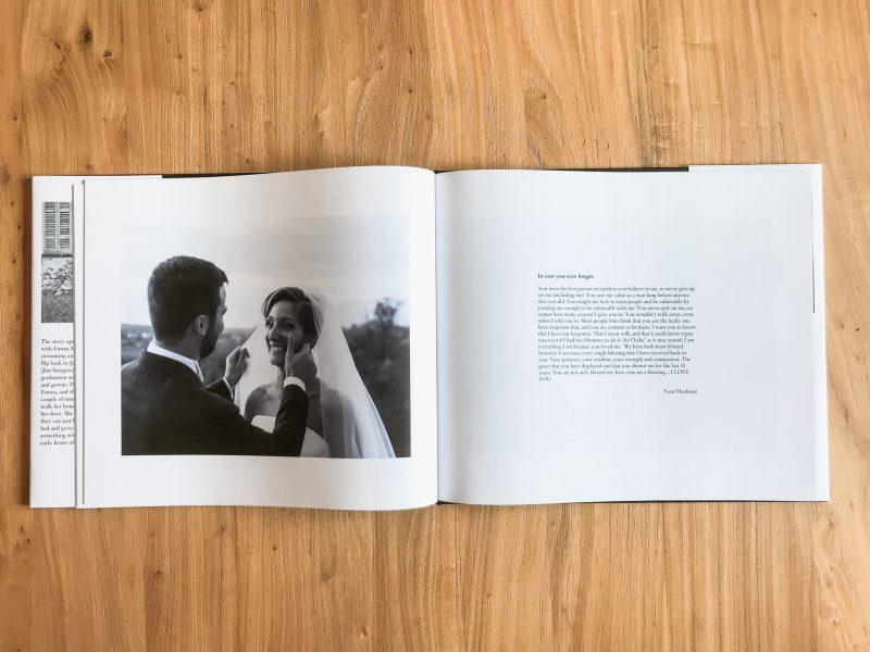 fotolibro editoriale matrimonio