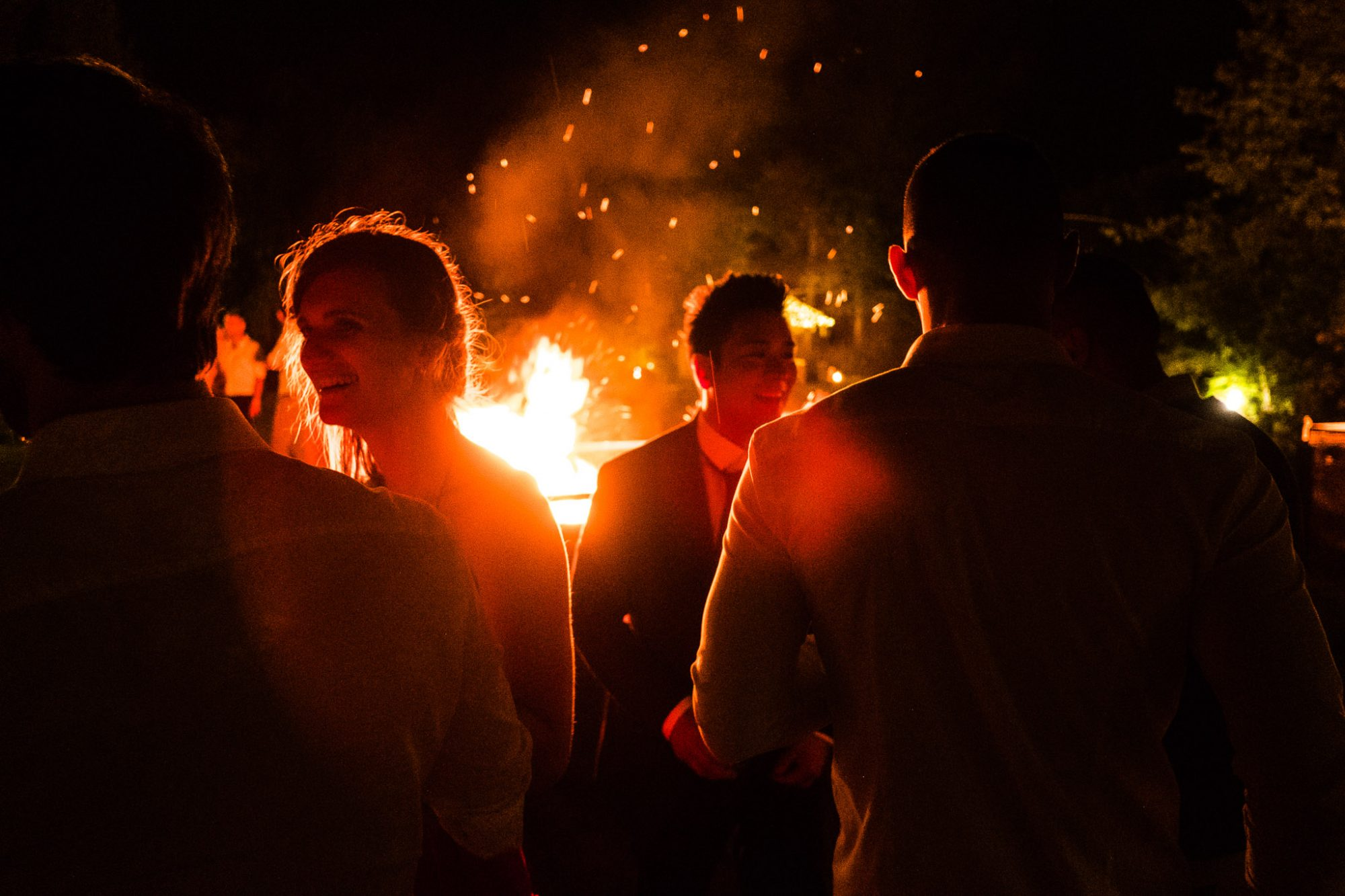 luca rossi notte durante matrimonio reportage fotografico