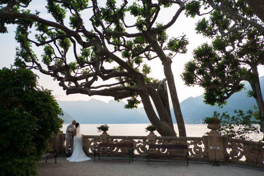 Sposi a villa Balbianello