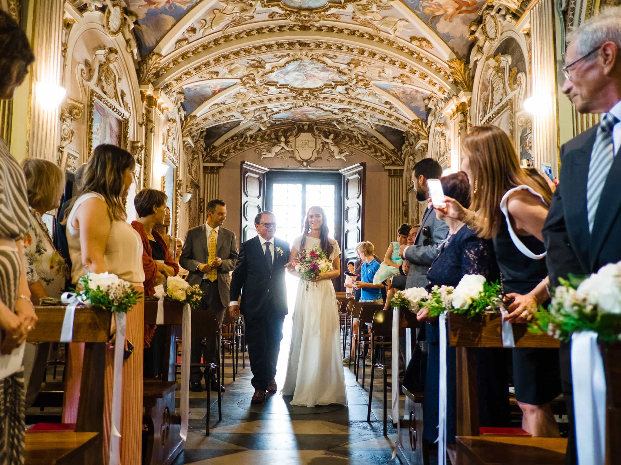 ingresso sposa chiesa sacro monte varese