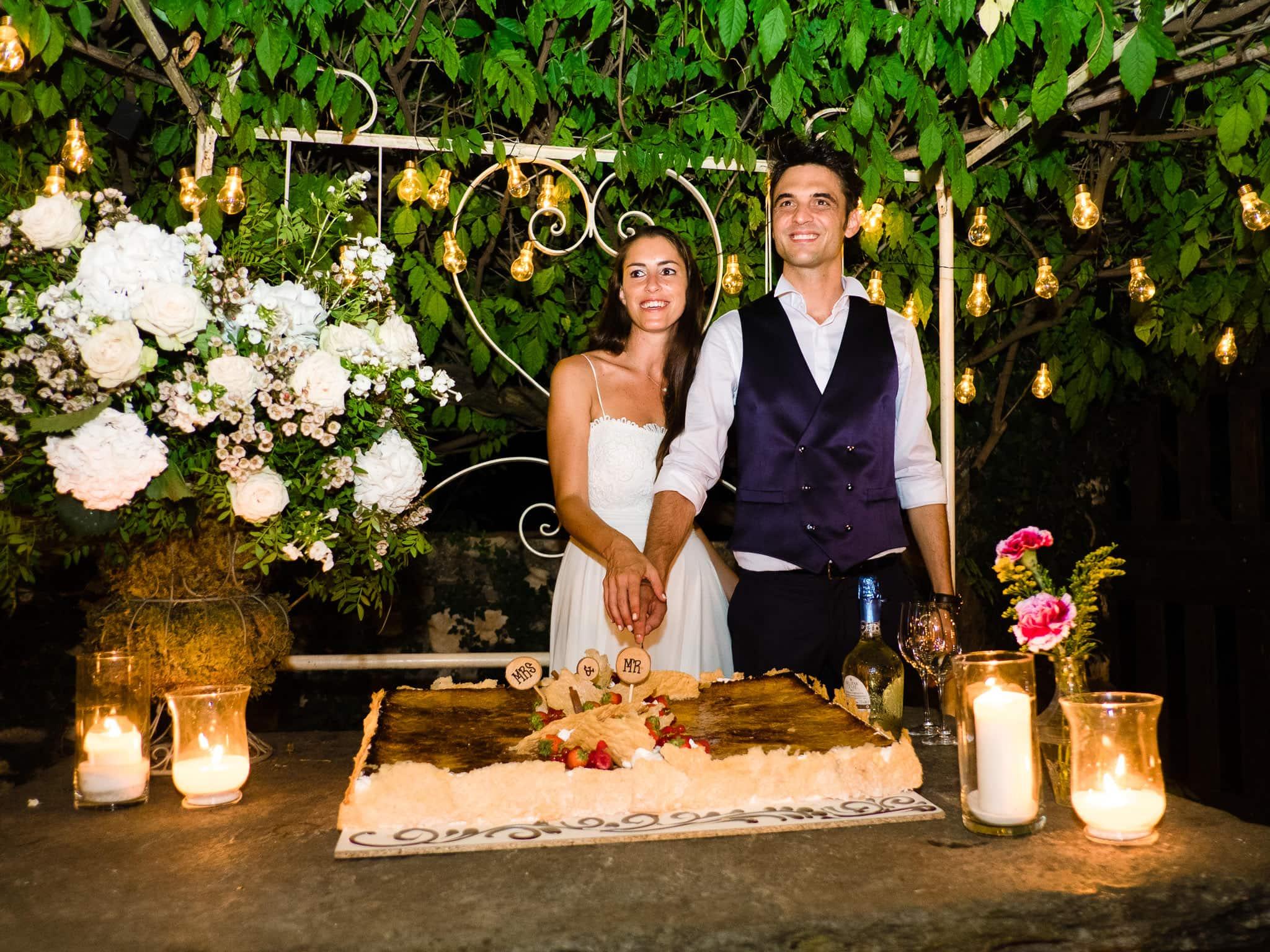 taglio torta reportage matrimonio mulino dell'olio varese