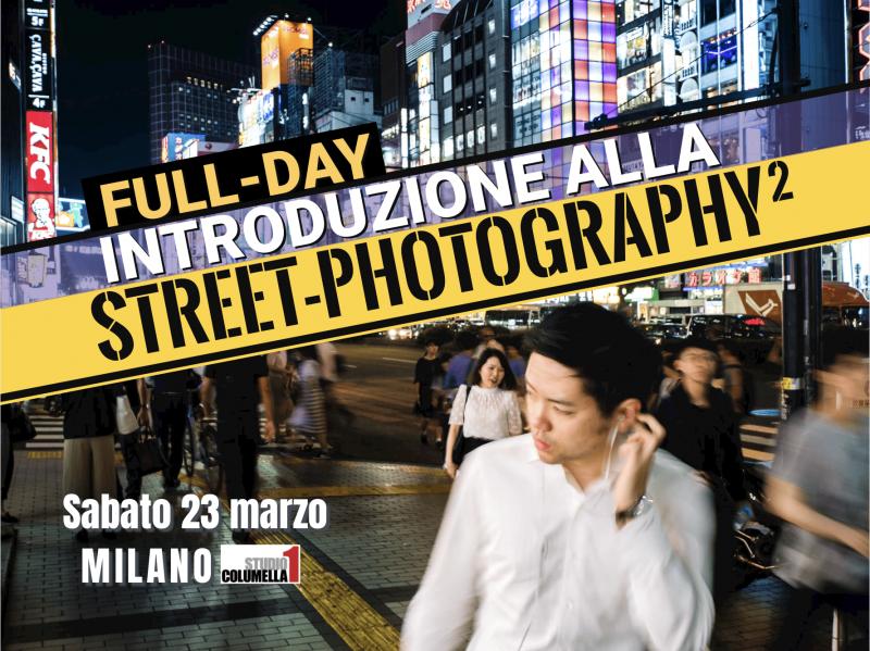 locandina workshop street photography milano