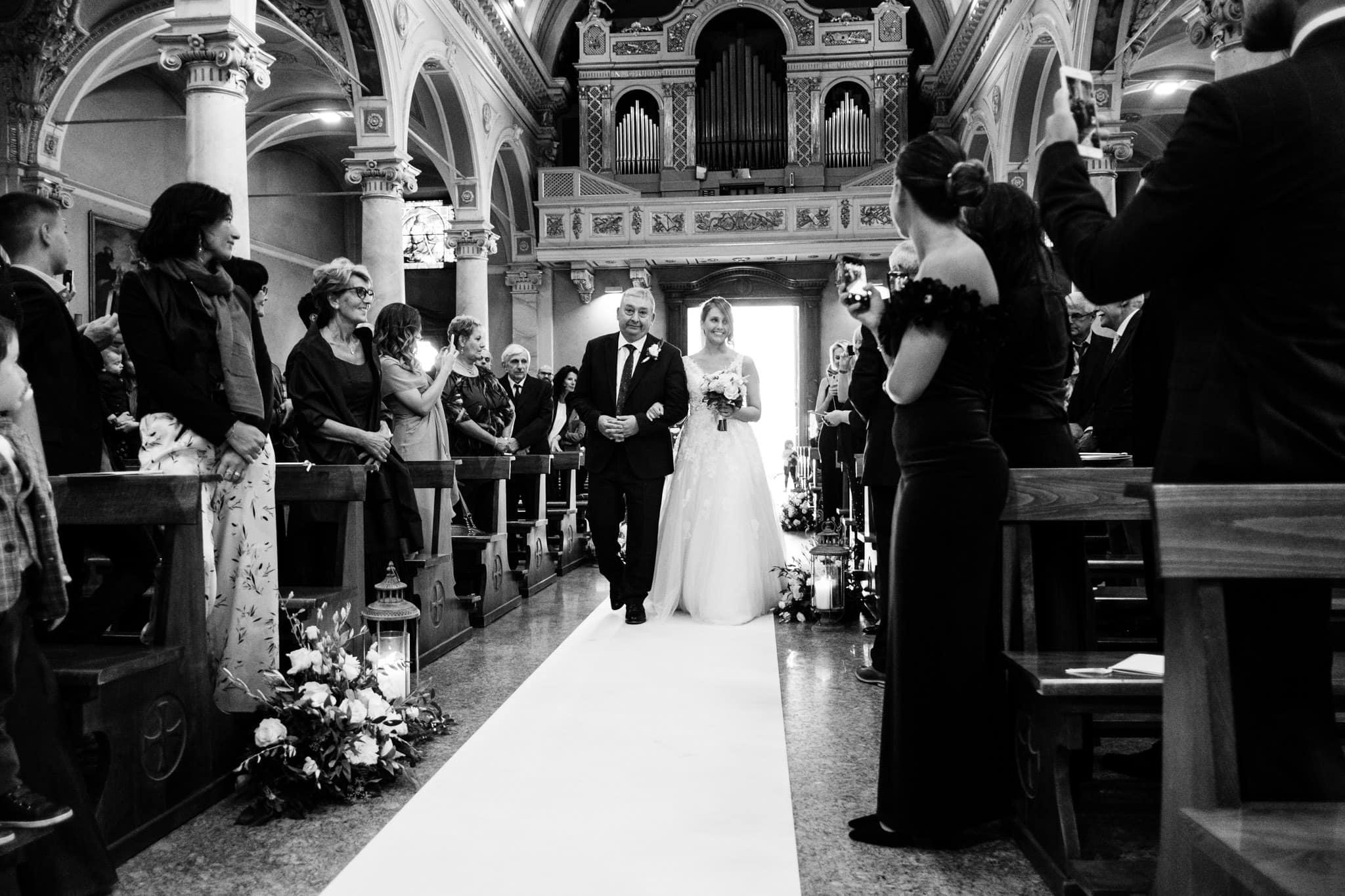 entrata sposa