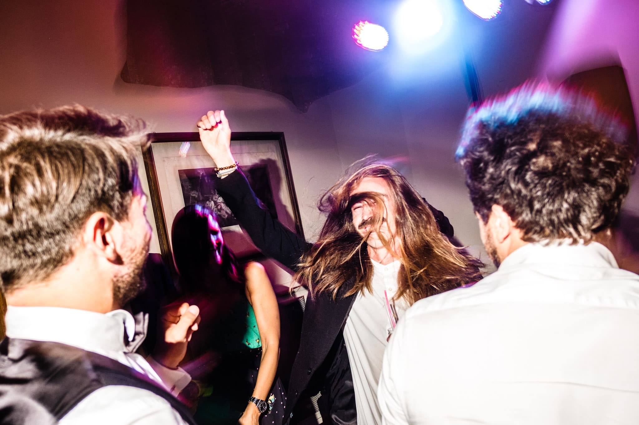 party in villa lattuada
