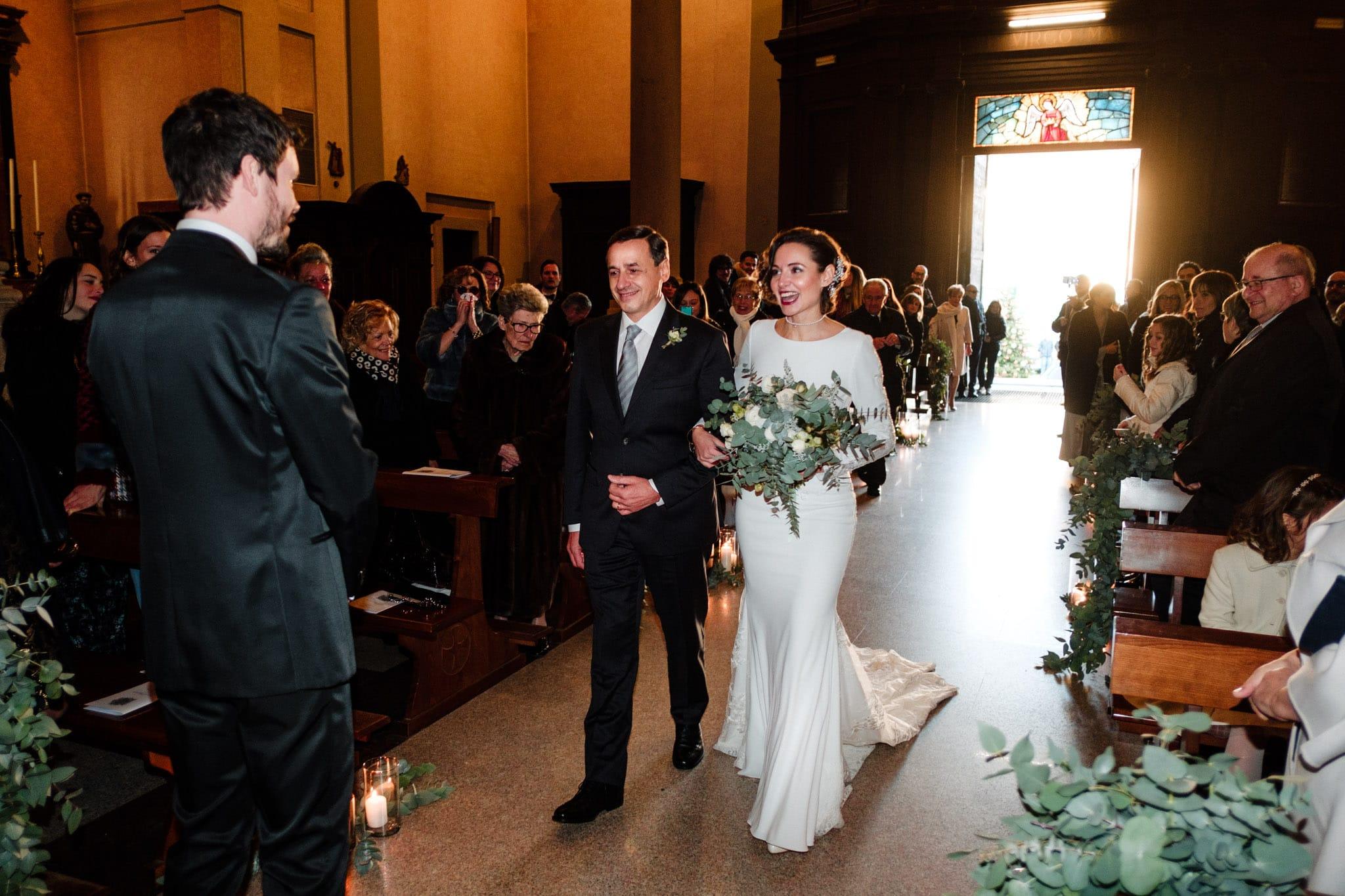 l'arrivo della sposa milano