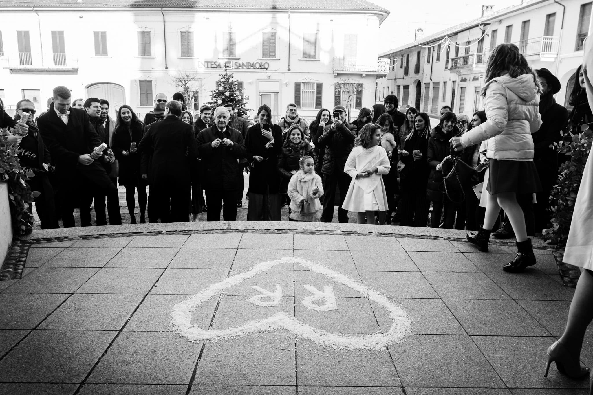 uscita sposi CHIESA DI SANTA MARIA DELLA NEVE Boffalora