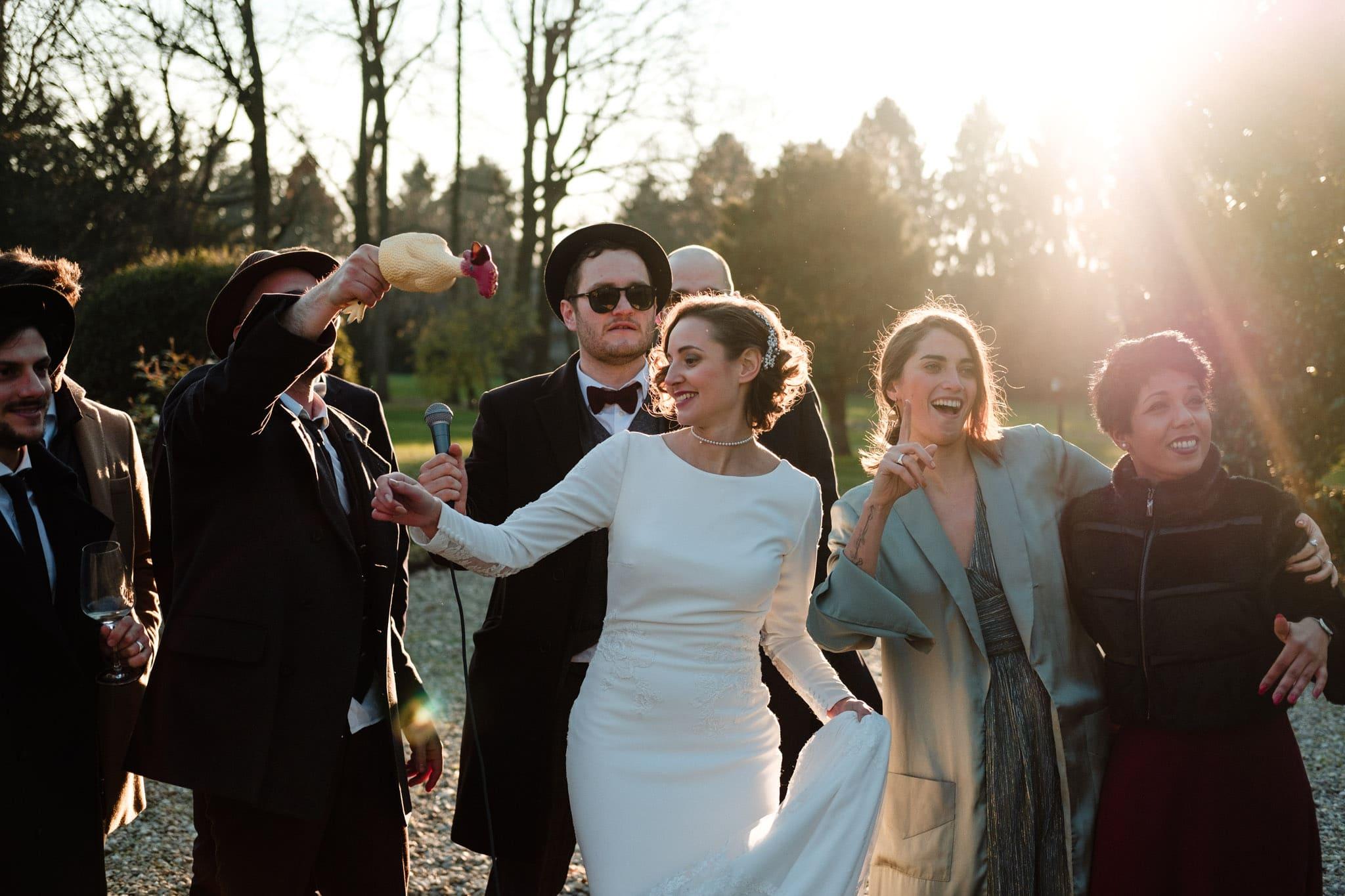 divertimento matrimonio villa gromo