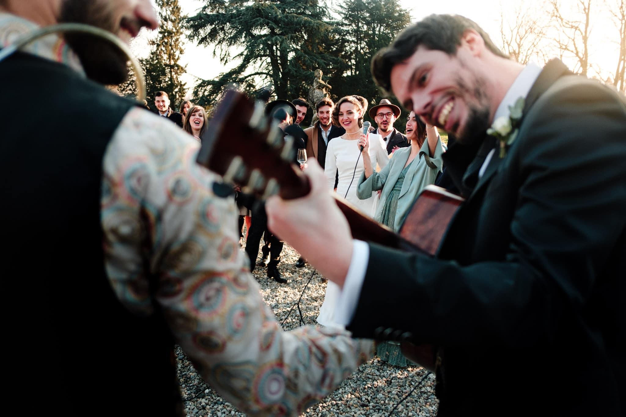 musica sposo matrimonio villa gromo