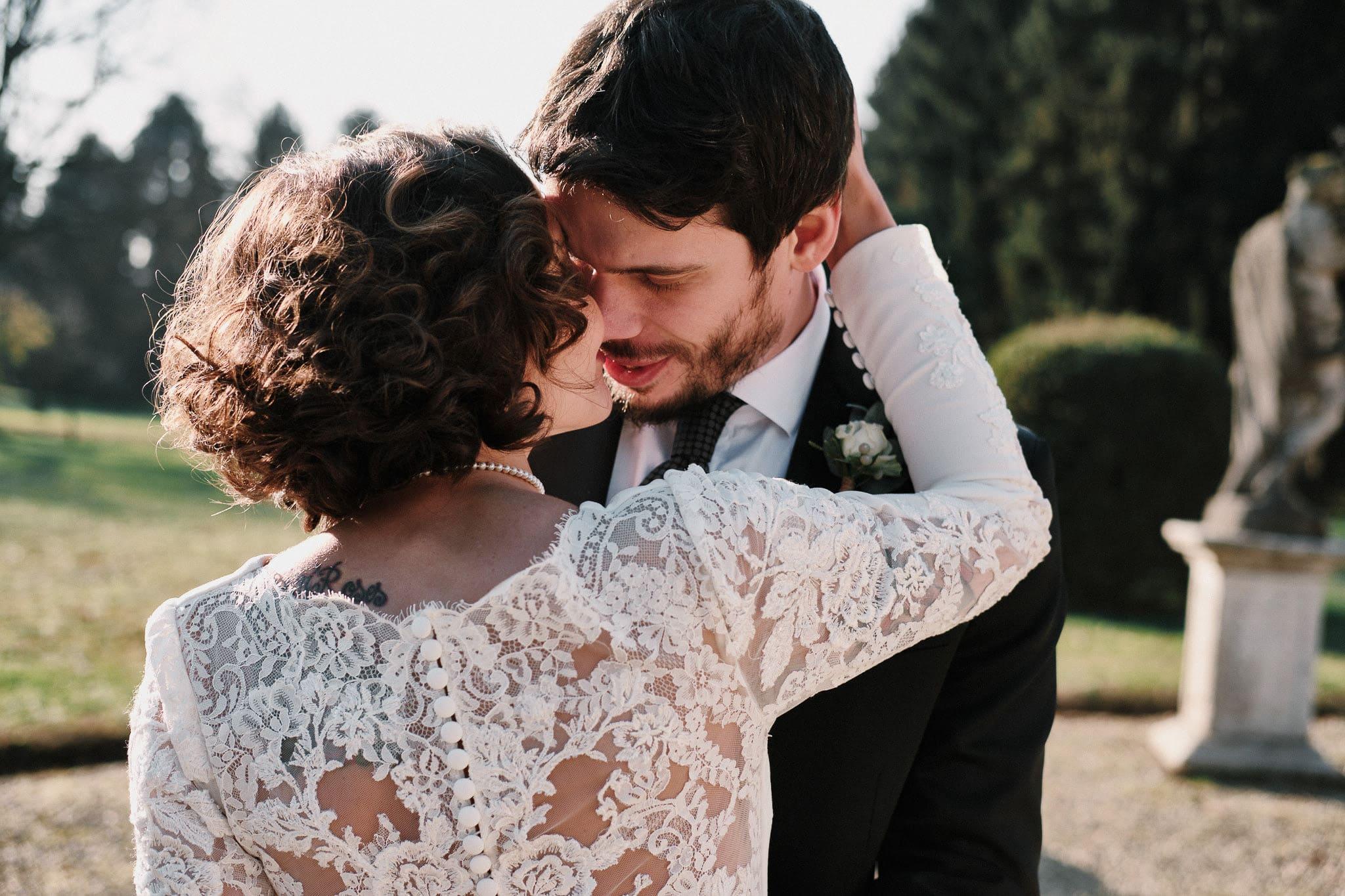 ritratto sposi villa gromo