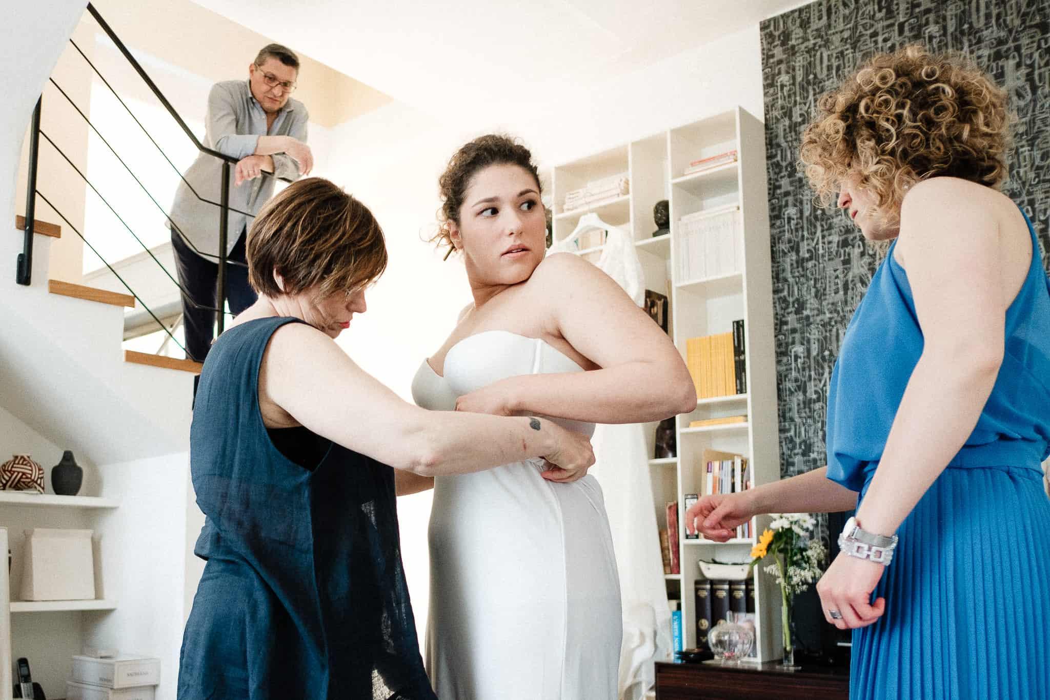 preparazione sposa villa bianca rovellasca