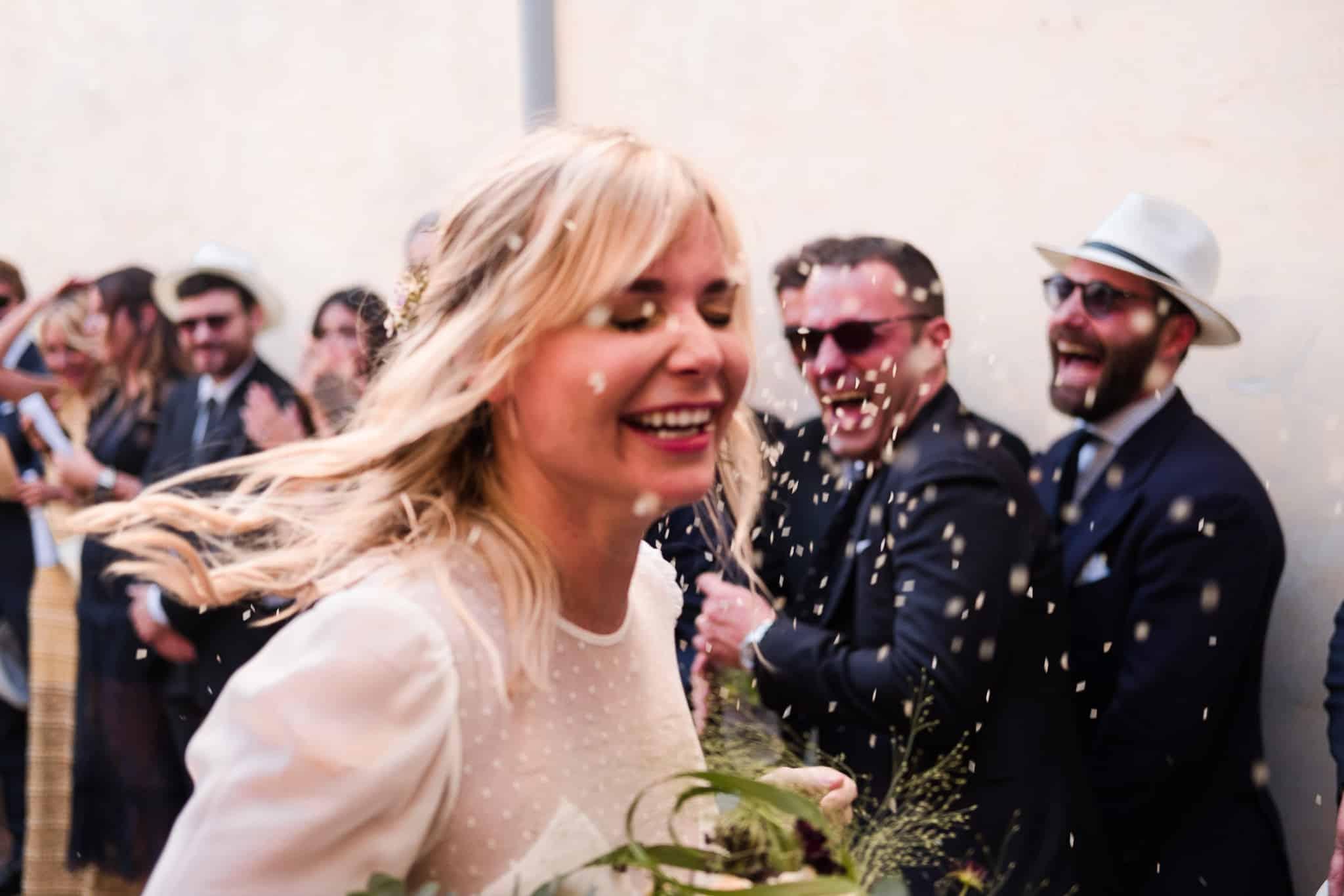 Fotografie matrimonio tra allegria e ironia
