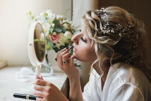Reportage matrimonio preparazione sposa