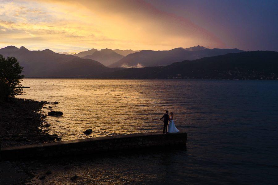 servizi fotografici romantici tramonto